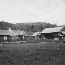 Berntssons gamla gård, numera Anita och Daniels