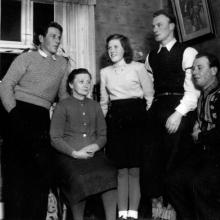 Bertil Beda Margit Hugo och Helge