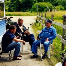 Dennis Bosse och Helge