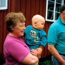 Margit Martin och Dennis