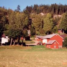 Claessons gård, numera Tomas Sköldebring och Anna Lindboms
