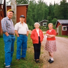 Hugo Helge Alice och Margit