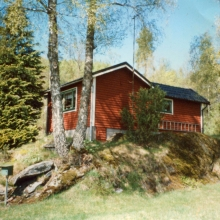 Müllerströms gamla sommarstuga som Olle och Gaj tog över 1998