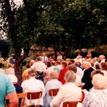 Torpargudstjänst hos Claessons 20 augusti 1989