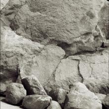 Ansikten i sten